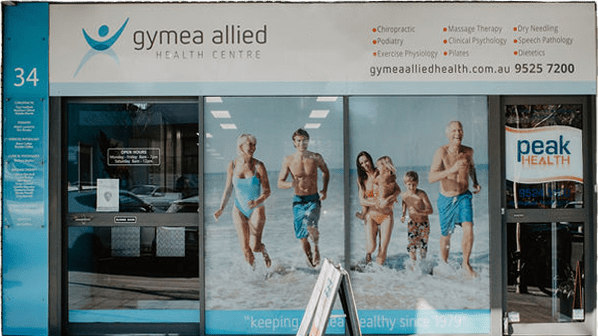 Gymea Allied Health Centre store front